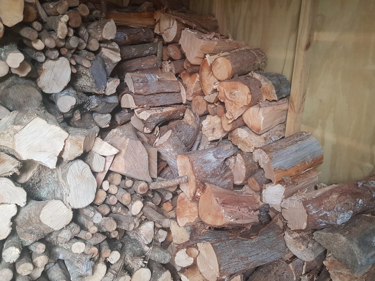 Pile of Firewood from Supplier in Whangarei